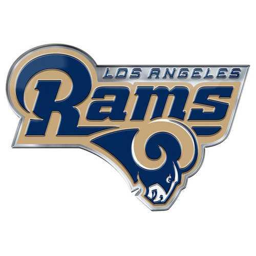 Los Angeles Rams Auto Emblem Color Alternate Logo