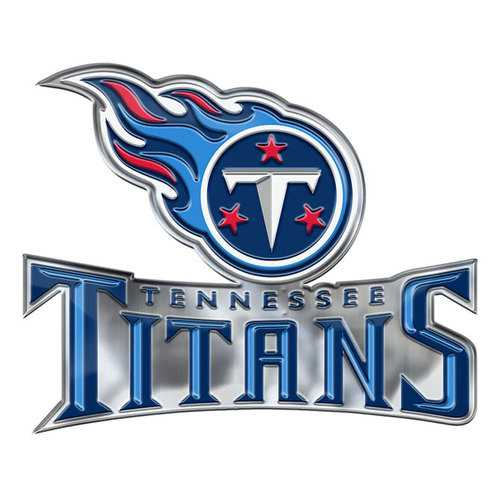 Tennessee Titans Auto Emblem Color Alternate Logo