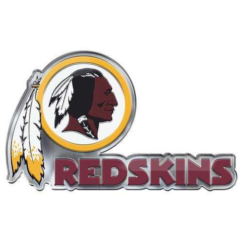 Washington Redskins Auto Emblem Color Alternate Logo