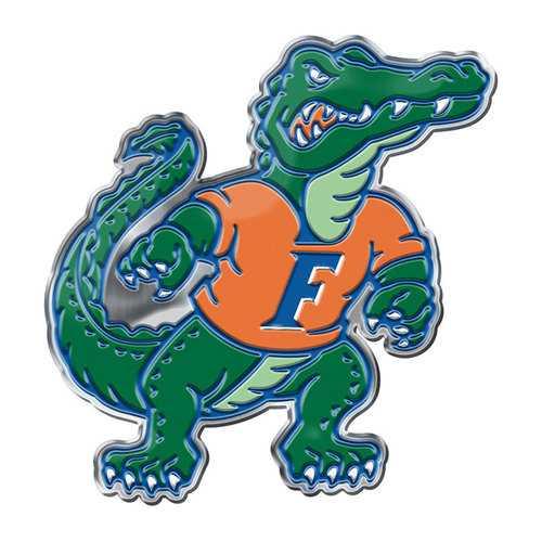 Florida Gators Auto Emblem Color Alternate Logo