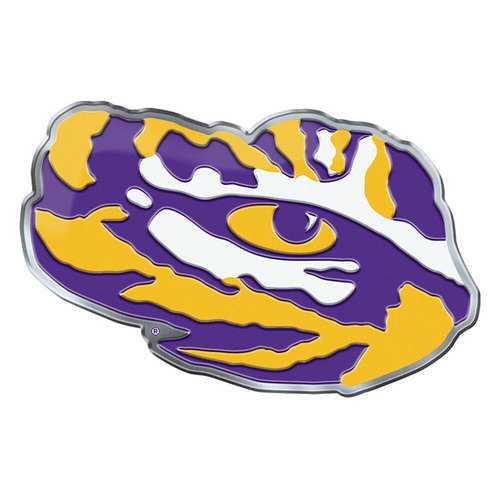 LSU Tigers Auto Emblem Color Alternate Logo