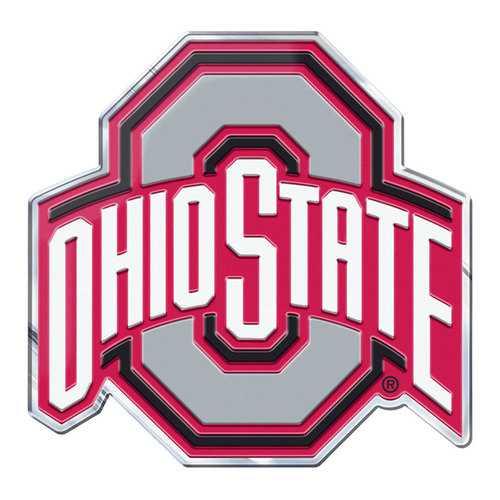 Ohio State Buckeyes Auto Emblem Color Alternate Logo