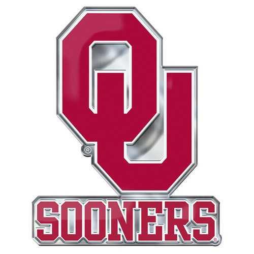 Oklahoma Sooners Auto Emblem Color Alternate Logo