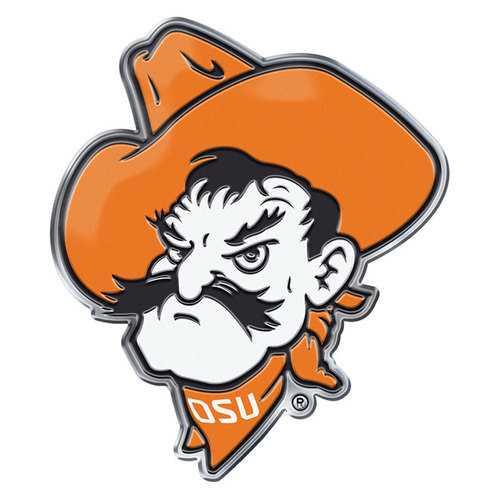 Oklahoma State Cowboys Auto Emblem Color Alternate Logo