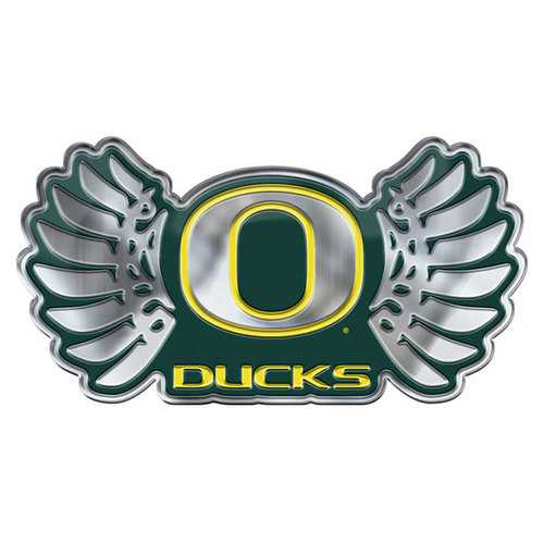 Oregon Ducks Auto Emblem Color Alternate Logo