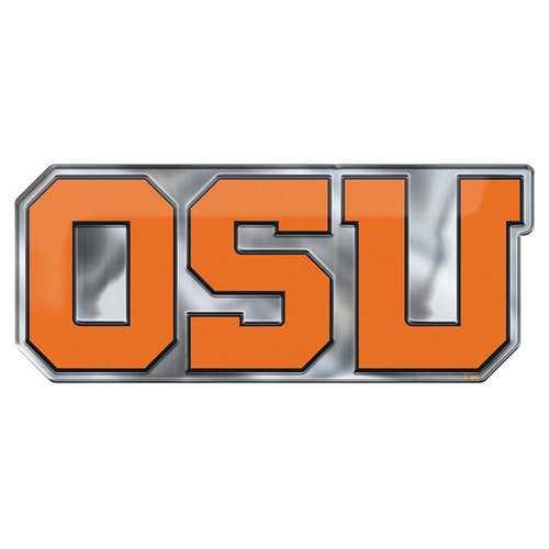 Oregon State Beavers Auto Emblem Color Alternate Logo Special Order