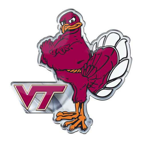 Virginia Tech Hokies Auto Emblem Color Alternate Logo