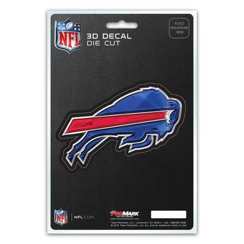 Buffalo Bills Decal 5x8 Die Cut 3D Logo Design