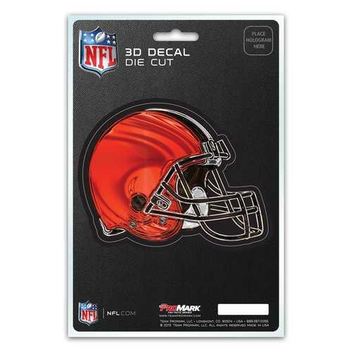 Cleveland Browns Decal 5x8 Die Cut 3D Logo Design