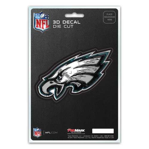 Philadelphia Eagles Decal 5x8 Die Cut 3D Logo Design