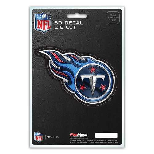 Tennessee Titans Decal 5x8 Die Cut 3D Logo Design