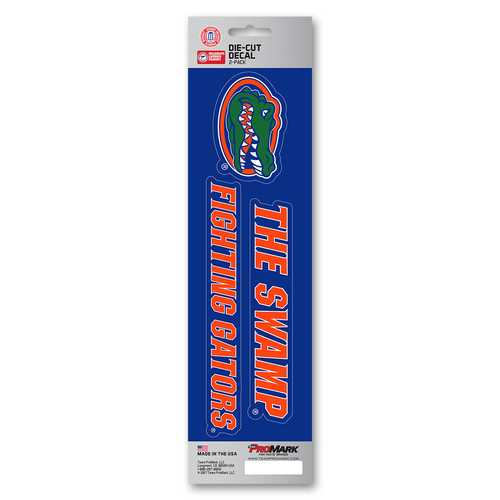 Florida Gators Decal Die Cut Slogan Pack
