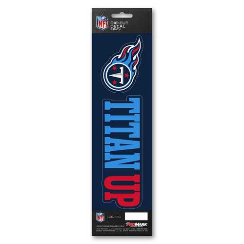 Tennessee Titans Decal Die Cut Slogan Pack