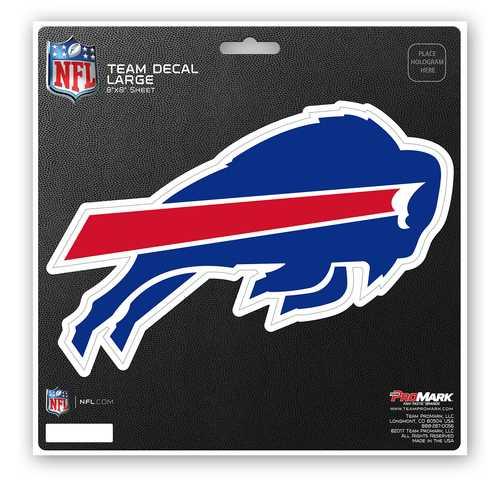 Buffalo Bills Decal 8x8 Die Cut
