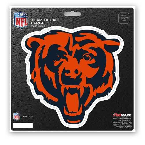 Chicago Bears Decal 8x8 Die Cut
