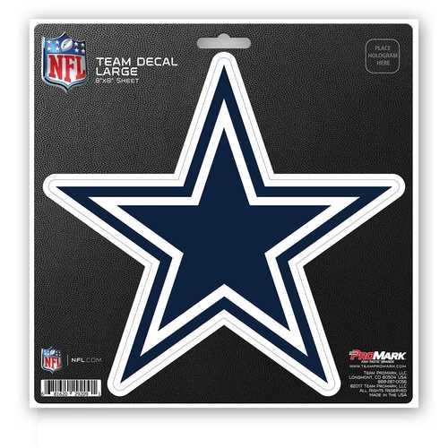 Dallas Cowboys Decal 8x8 Die Cut