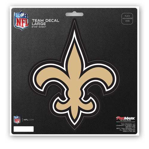 New Orleans Saints Decal 8x8 Die Cut