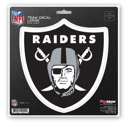Oakland Raiders Decal 8x8 Die Cut
