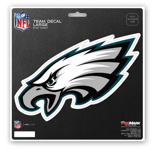 Philadelphia Eagles Decal 8x8 Die Cut