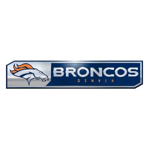 Denver Broncos Auto Emblem Truck Edition 2 Pack