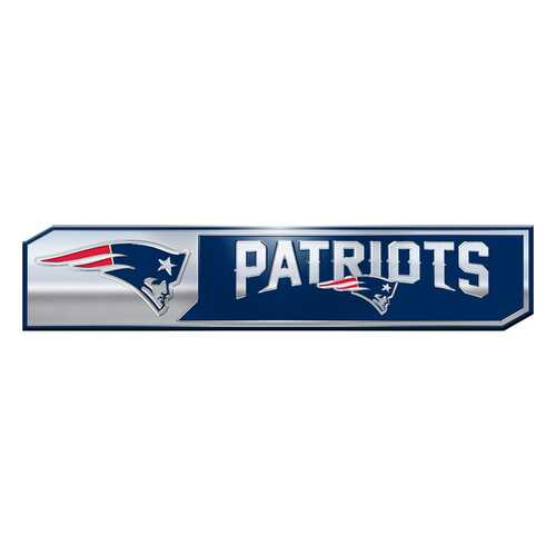 New England Patriots Auto Emblem Truck Edition 2 Pack