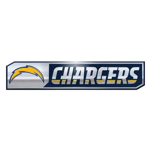 Los Angeles Chargers Auto Emblem Truck Edition 2 Pack