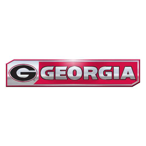 Georgia Bulldogs Auto Emblem Truck Edition 2 Pack