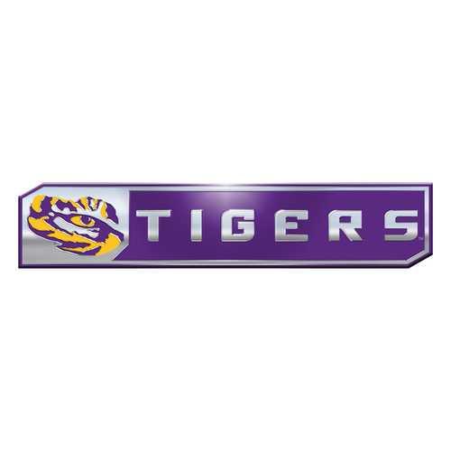 LSU Tigers Auto Emblem Truck Edition 2 Pack