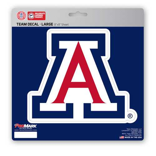 Arizona Wildcats Decal 8x8 Die Cut Special Order