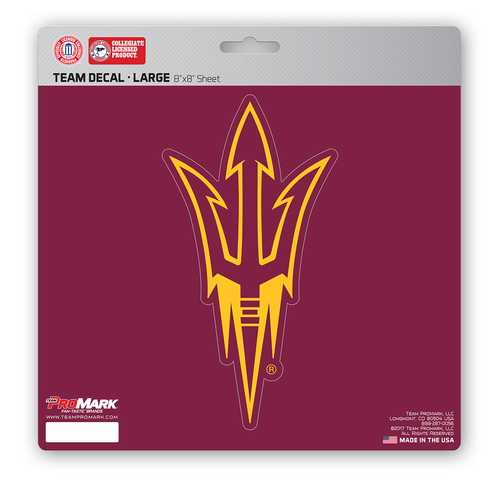 Arizona State Sun Devils Decal 8x8 Die Cut Special Order