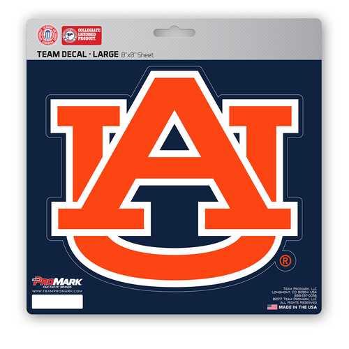 Auburn Tigers Decal 8x8 Die Cut Special Order