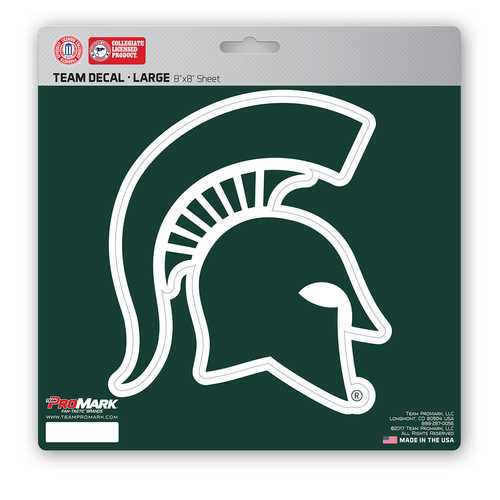 Michigan State Spartans Decal 8x8 Die Cut Special Order