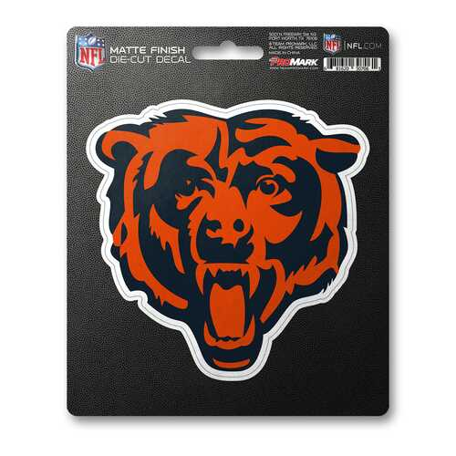 Chicago Bears Decal 8x8 Die Cut Matte Special Order