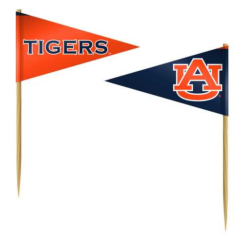 Auburn Tigers Toothpicks 36 Piece Pennant Style FanPicks