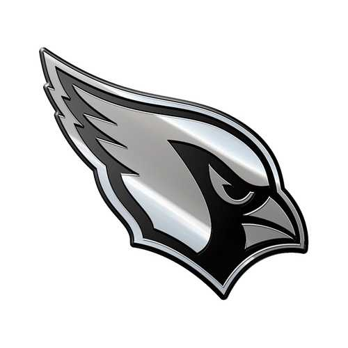Arizona Cardinals Auto Emblem Premium Metal