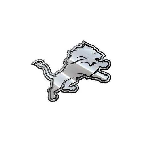 Detroit Lions Auto Emblem Premium Metal