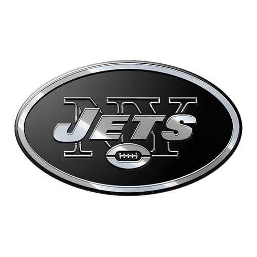 New York Jets Auto Emblem Premium Metal Special Order