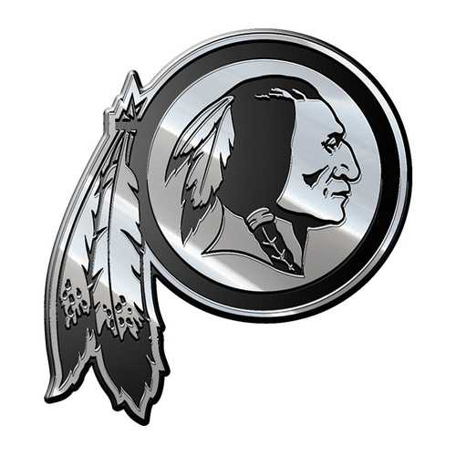 Washington Redskins Auto Emblem Premium Metal