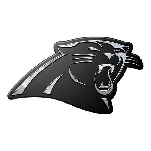 Carolina Panthers Auto Emblem Premium Metal