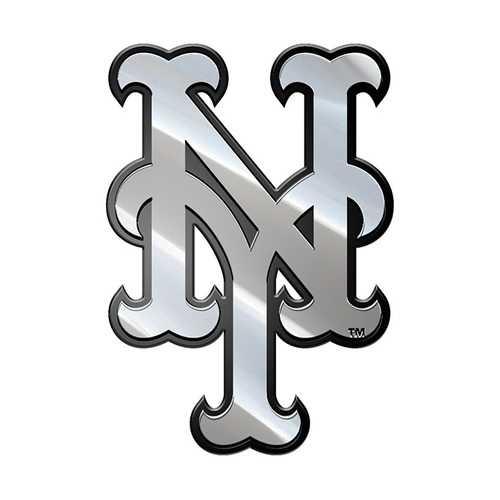 New York Mets Auto Emblem Premium Metal