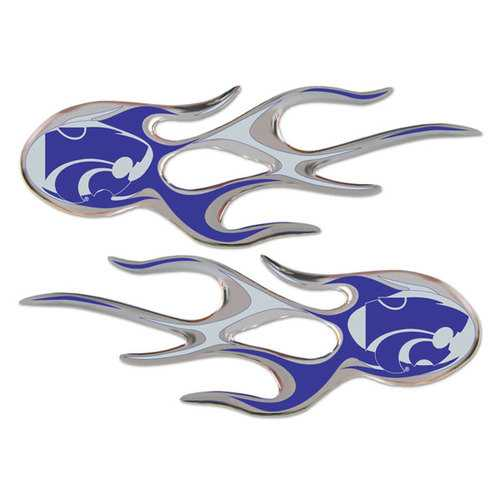 Kansas State Wildcats Micro Flames Graphics