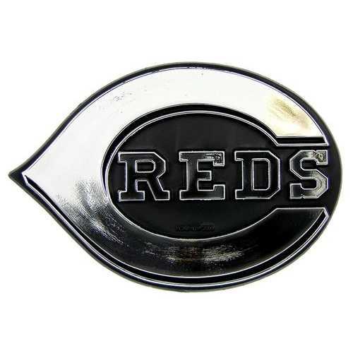 Cincinnati Reds Auto Emblem - Silver Special Order