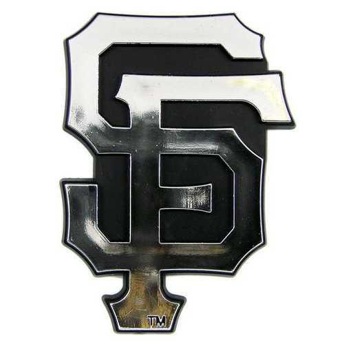 San Francisco Giants Auto Emblem - Silver