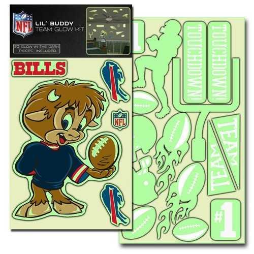 Buffalo Bills Decal Lil Buddy Glow in the Dark Kit