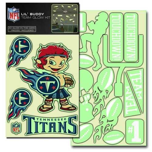 Tennessee Titans Decal Lil Buddy Glow in the Dark Kit