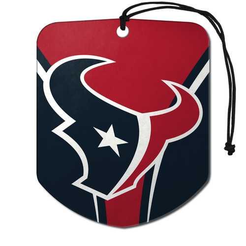 Houston Texans Air Freshener Shield Design 2 Pack