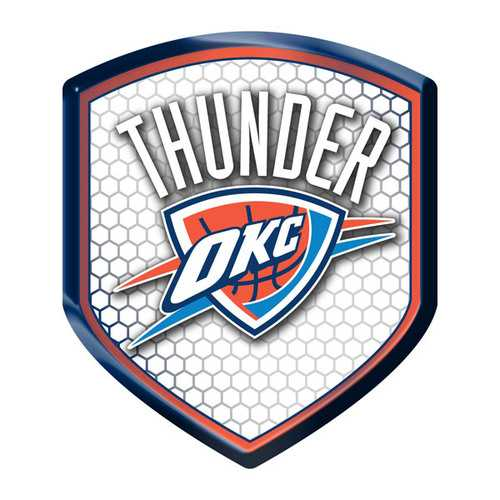 Oklahoma City Thunder Shield Style Reflector