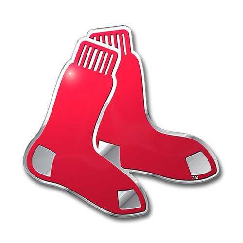 Boston Red Auto Emblem Color
