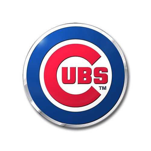 Chicago Cubs Auto Emblem Color