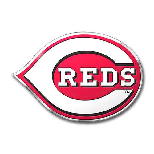 Cincinnati Reds Auto Emblem Color Special Order